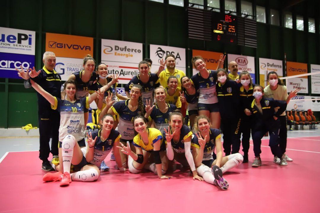 PSA Olympia vince anche il recupero contro Acqui Terme