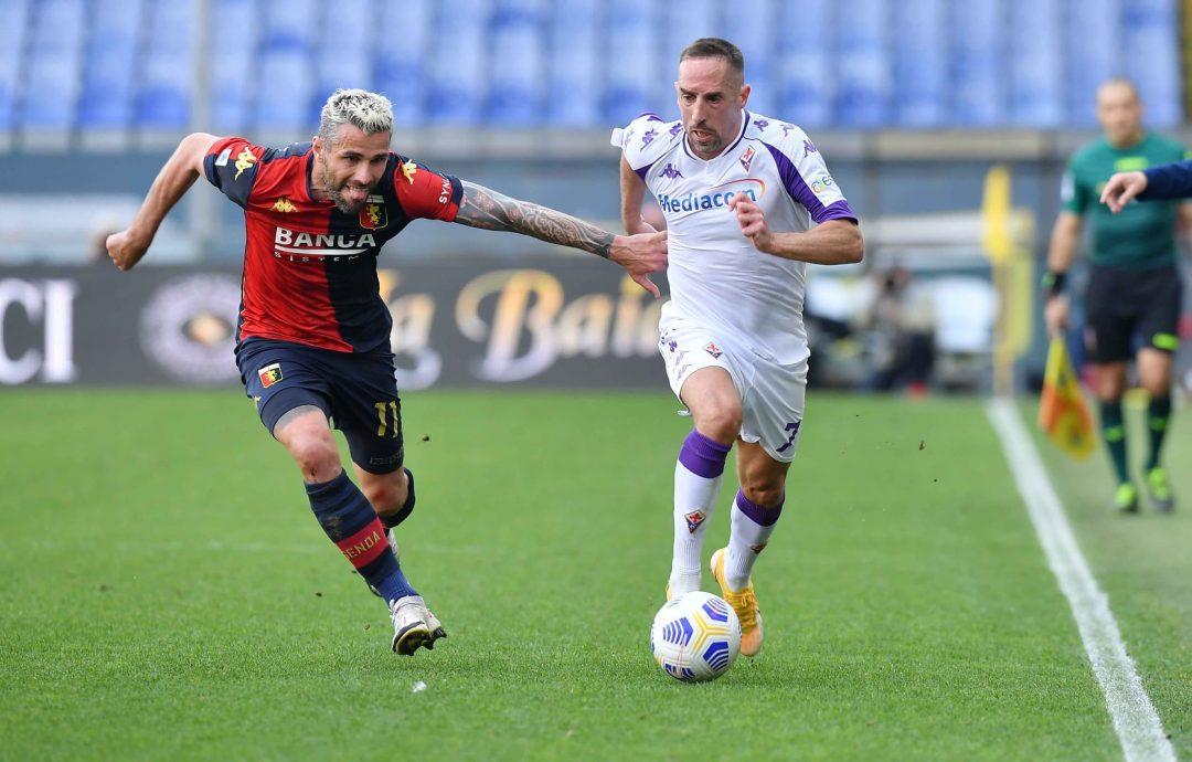Genoa e Fiorentina sottotono, si spartiscono la posta: 1-1