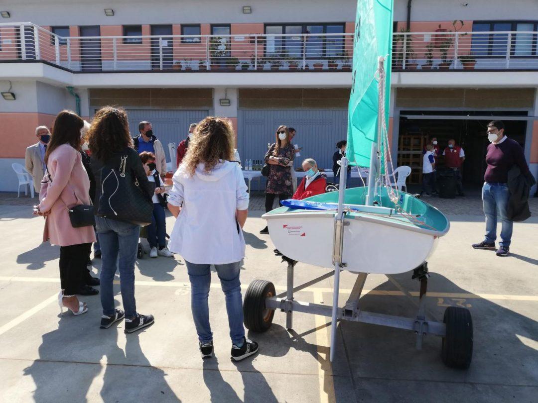 """Lni Sestri Ponente inaugura con Regione Liguria la """"barca solidale"""""""