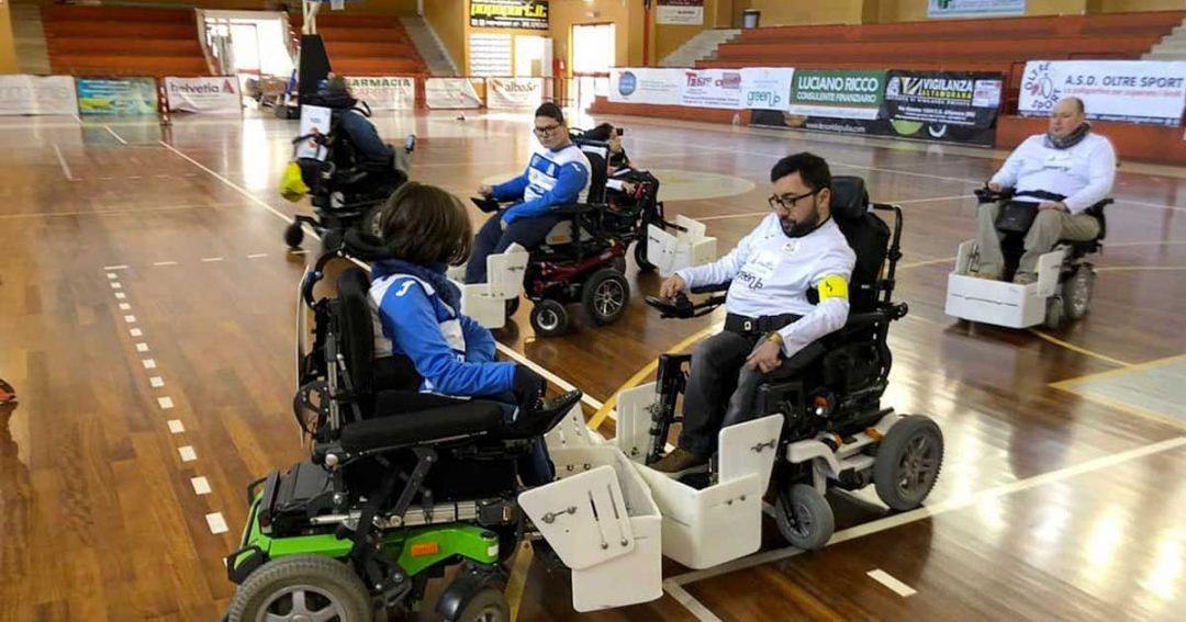 Powerchair Sport: una novità forte nell'attività paralimpica