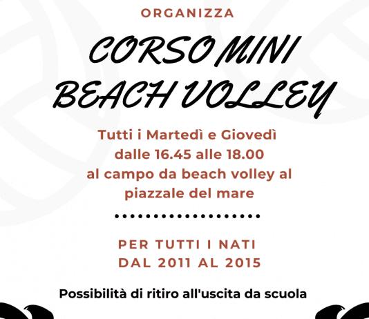 Corso Mini Volare Volley Arenzano 2021