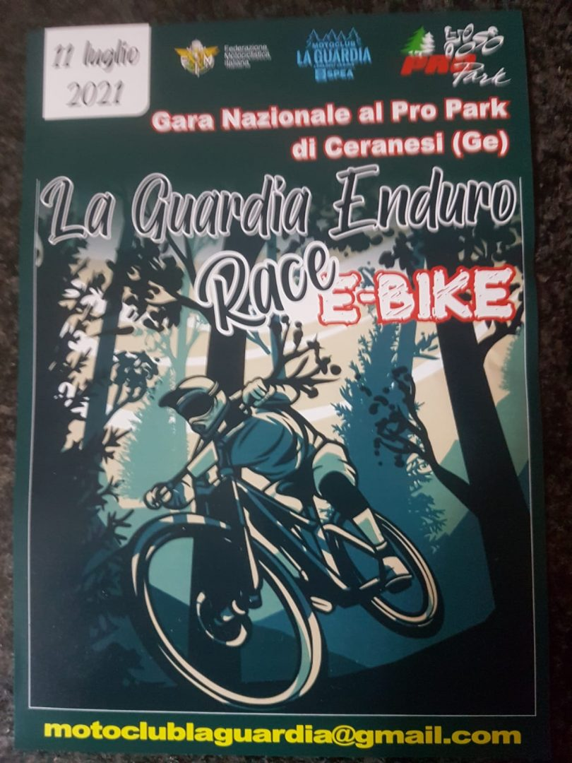"""Una sfida """"enduro"""" per gli e-bikers sui sentieri del Pro Park alla Guardia"""