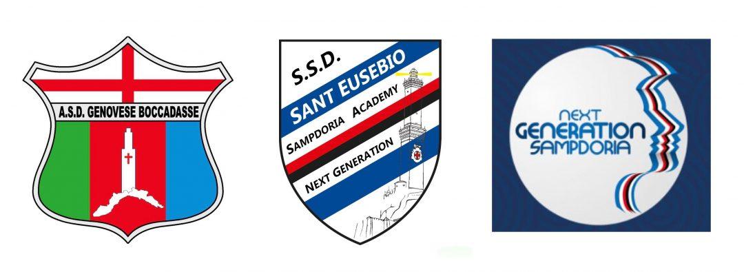 A.S.D. Genovese  Boccadasse, S.S.D. Sant' Eusebio e Sampdoria: collaborazione a Bavari