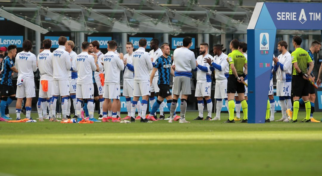 La Sampdoria fa la Guardia D'Onore all'Inter Scudettata: 5-1