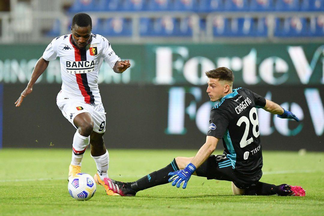 Paleari, Eldor e Kallon buoni propositi per l'anno nuovo, il Genoa chiude sbancando Cagliari 1-0