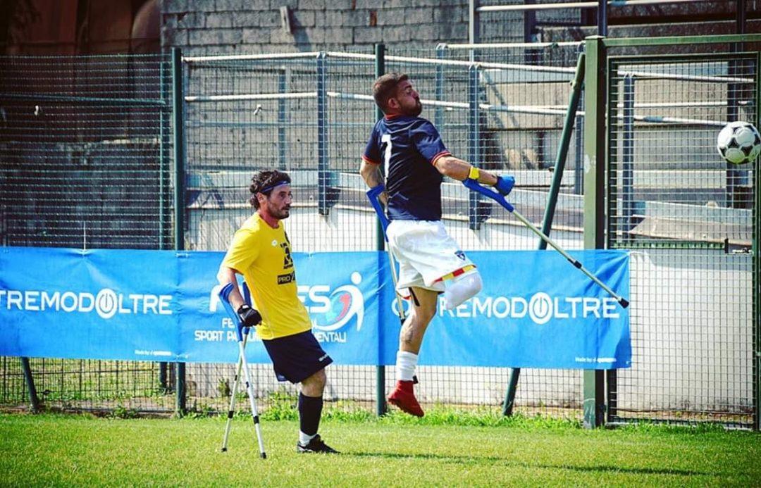 Calcio Amputati: Buonocore (Levante C Pegliese) convocato in Nazionale