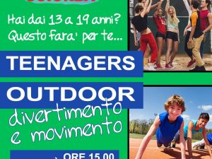 Corso outdoor per teenager allo Sciorba Stadium