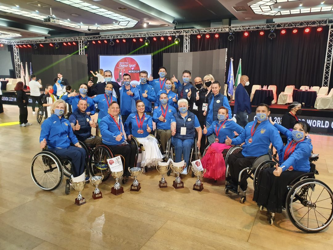A Genova la Coppa del Mondo di Danza Paralimpica sotto il segno di Russia e Ucraina