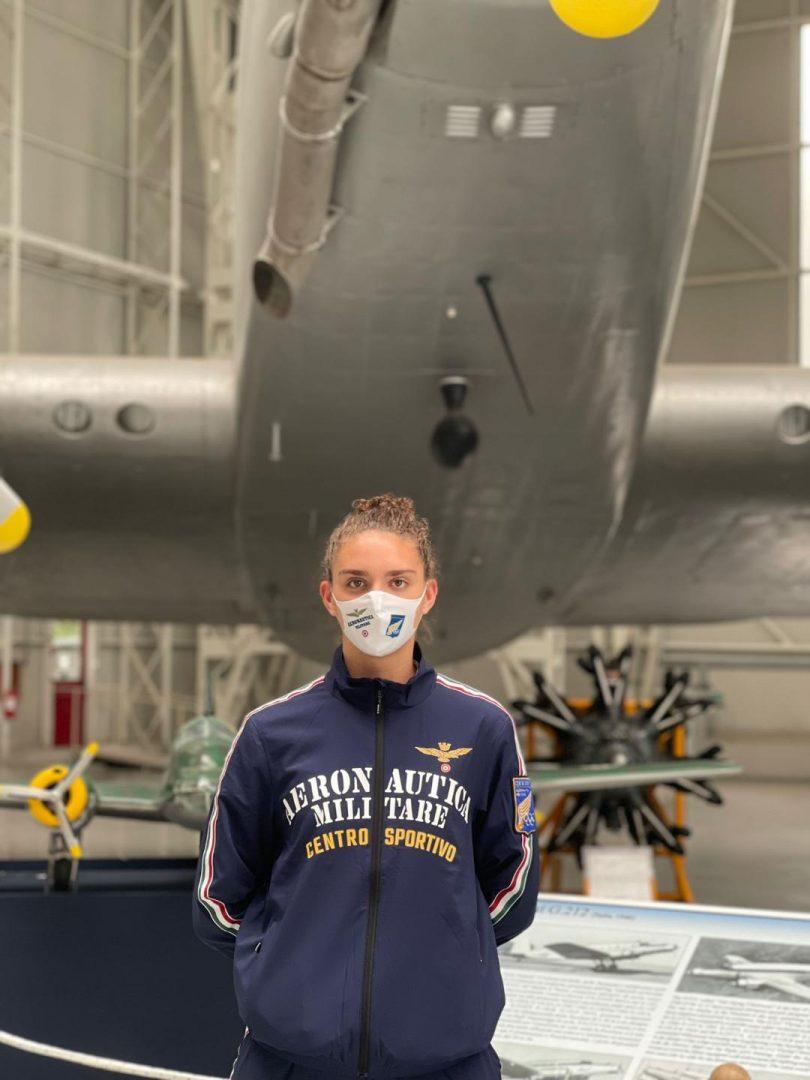 Carola Maccagno entra a far parte del Centro Sportivo dell'Aereonautica Militare