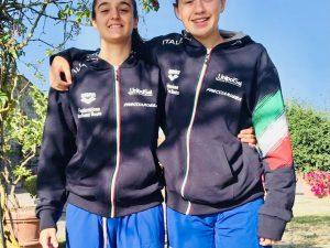 Rosso, Bianco, Blu….Azzurro Lontra! Eleonora Bianco e Cecilia Grasso bomber all'Europeo under 15