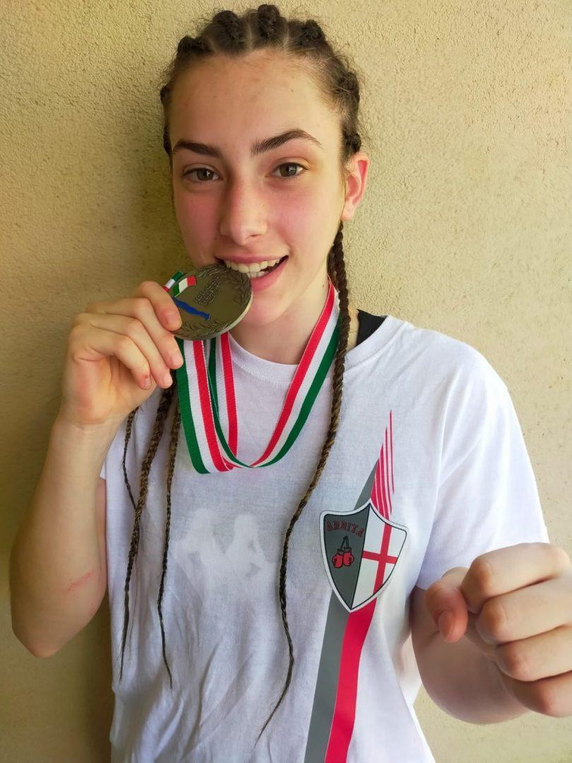 Reginetta del Ring e della Liguria, l'argento agli Italiani Junior di Giorgia Tarabotto