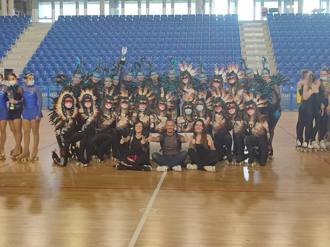 Artistic Roller Team: è tripletta a Vigevano