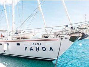 La nave del WWF a Santa Margherita Ligure