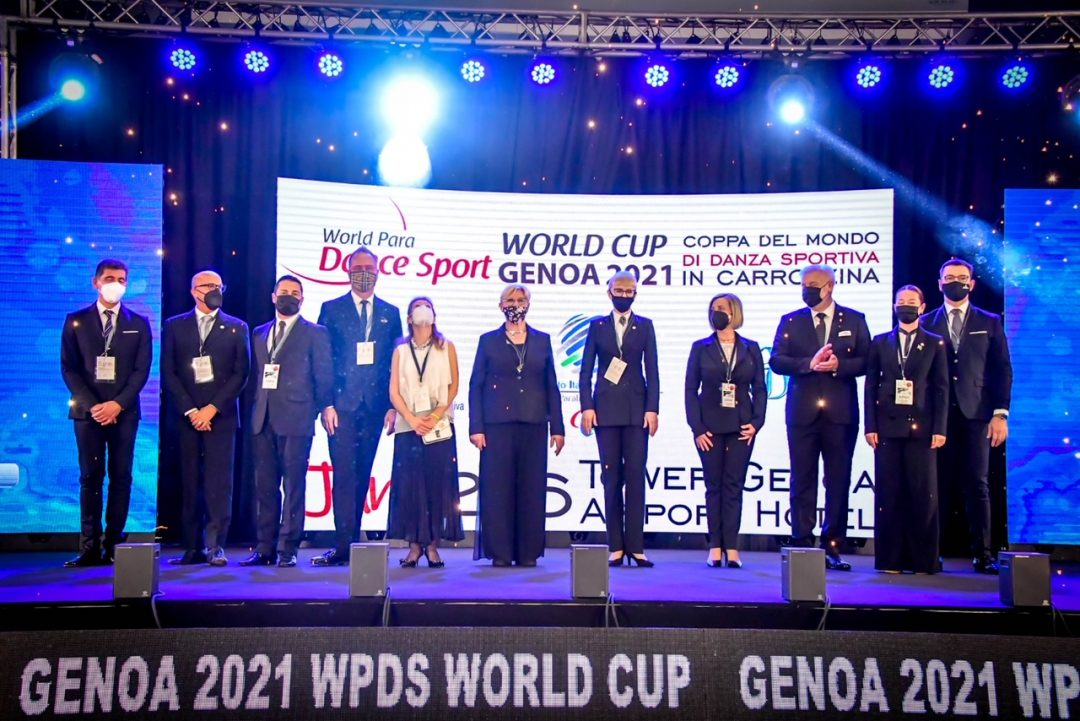 Buona la prima (giornata) per la Coppa del Mondo di Danza Paralimpica a Genova