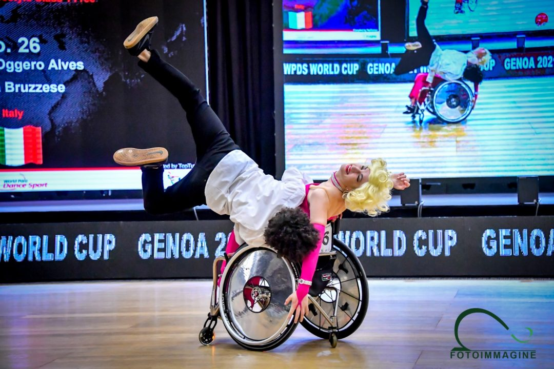 Grande chiusura a Genova per la Coppa del Mondo di Danza Paralimpica