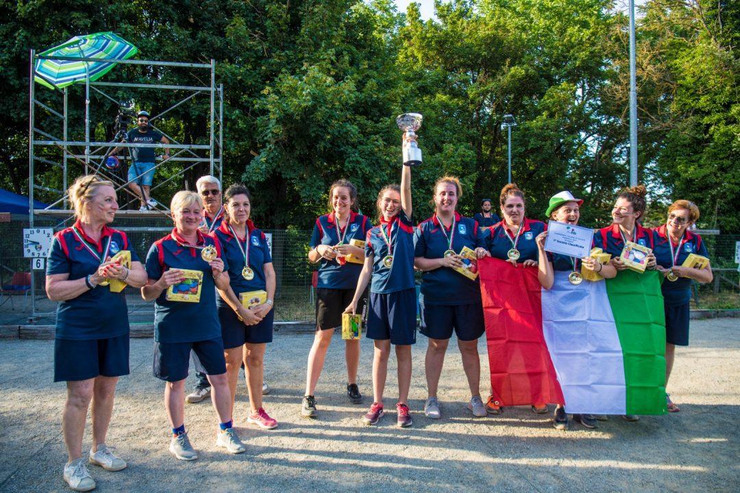Petanque: l'ABG vince la serie A femminile