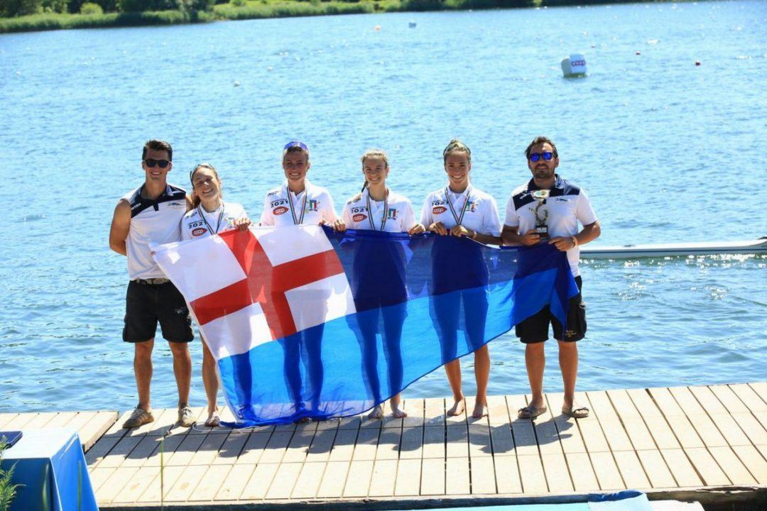 Supercampionato: Rowing tre volte campione d'Italia, plurimedagliate anche Samp, Murcarolo e Speranza
