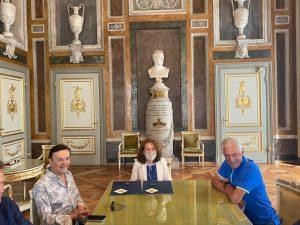 Moser e Battaglia a Palazzo Tursi con l'assessore Gaggero