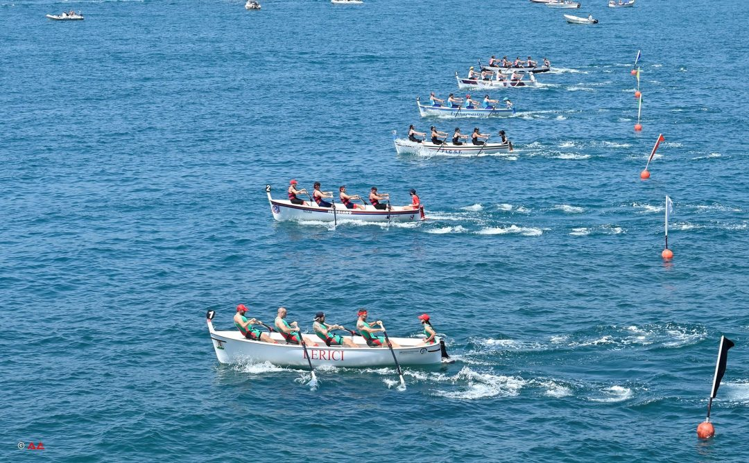 Festa a Lerici per la regata nazionale di Gozzi
