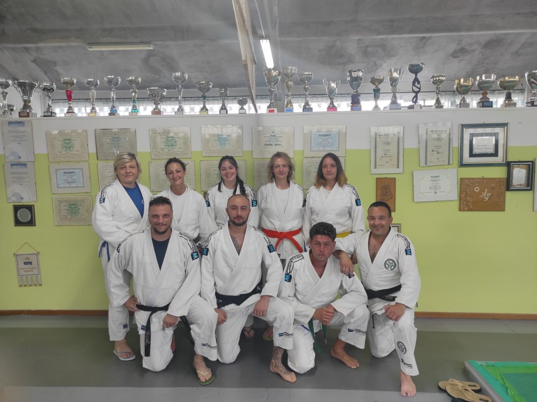 Il Judo Club Sakura Arma di Taggia ha partecipato alle gare online di Ju Jitsu