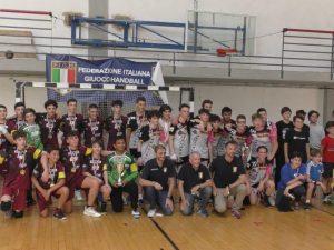 Che festa a Genova per il ritorno della Pallamano. Tra gli Under 15 vince Cassano Magnago