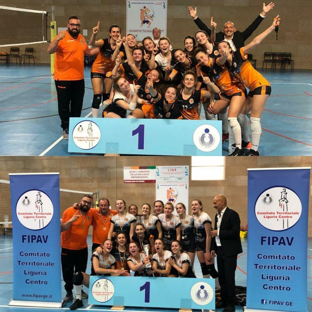 Serteco Volley School: le coccinelle campionesse provinciali Under 15 e Under 19
