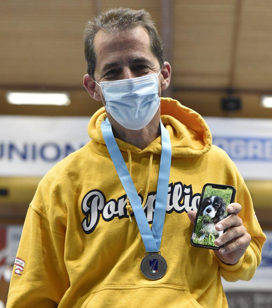 Claudio Pirani argento ai Campionati Italiani Master
