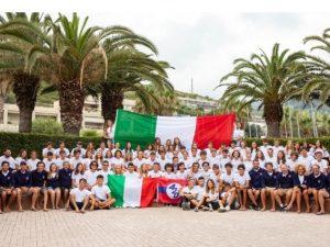 Mondiale 420: prima giornata di assestamento a Marina Aregai