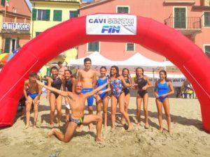 Cavi-Sestri: ottime performance per Genova Nuoto-MySport