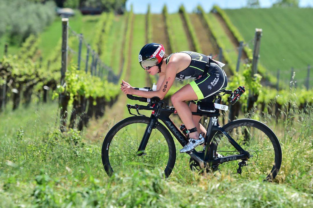 Vittoria Bergamini è Campionessa Italiana di Triathlon medio cat. S2