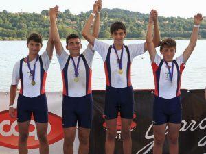 Rowing sesta forza del Festival dei Giovani, vince anche il 4 di coppia della Liguria