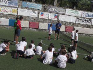 Gianluca Naso allenatore di Tennis all'Educamp del Ca de Rissi SG