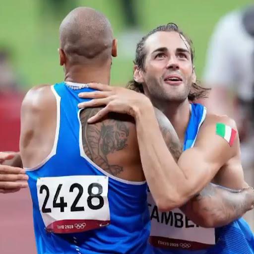 Marcel Jacobs e Gian Marco Tamberi (foto Fidal)