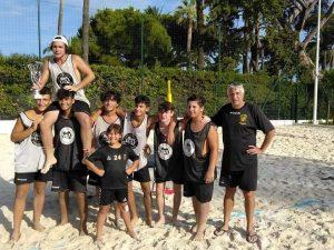 I Black Corsairs si aggiudicano il torneo di Beach Handball
