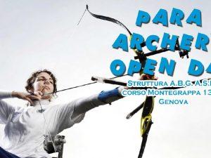 Sabato a Genova il Para archery open day con Gian Filippo Mirabile
