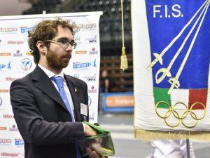 Alexis Bruno nuovo arbitro internazionale per la Spada