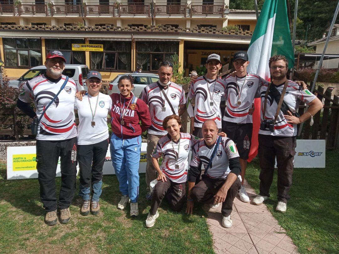 Arcieri Tigullio nuovamente in vetta al medagliere del Campionato Italiano 3D