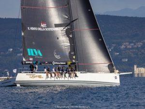 Al Maxi Pendragon del Light Bay Sailing Team la RoundItaly Genova – Trieste