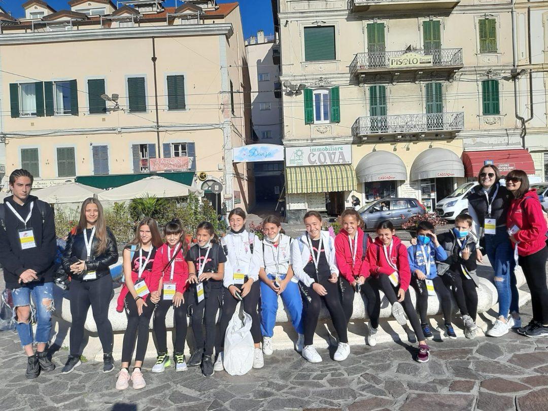 Ben 74 ginnasti della Riviera dei Fiori alla 22a edizione del GEF