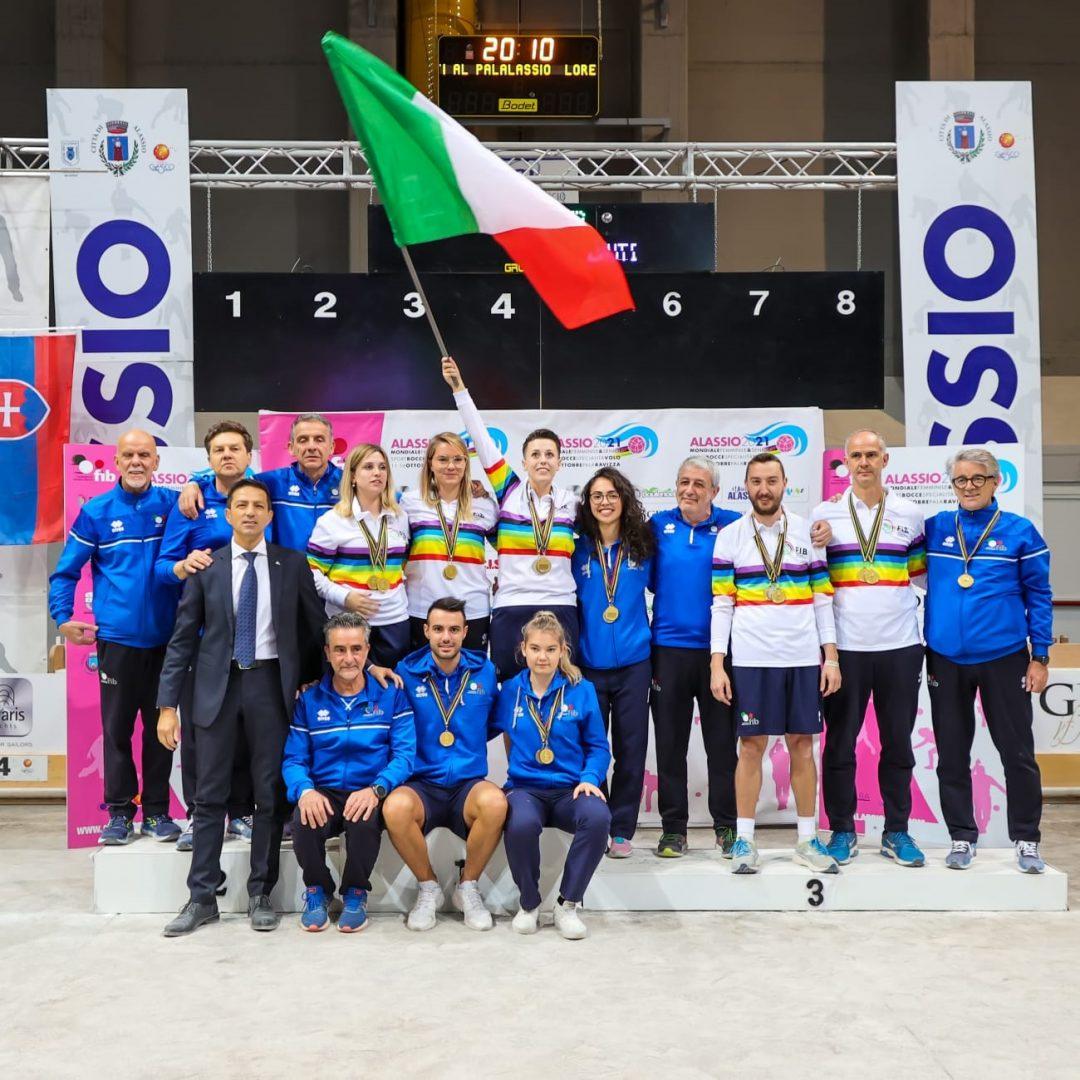 Mondiali Alassio: la felicità azzurra dopo le sei medaglie vinte