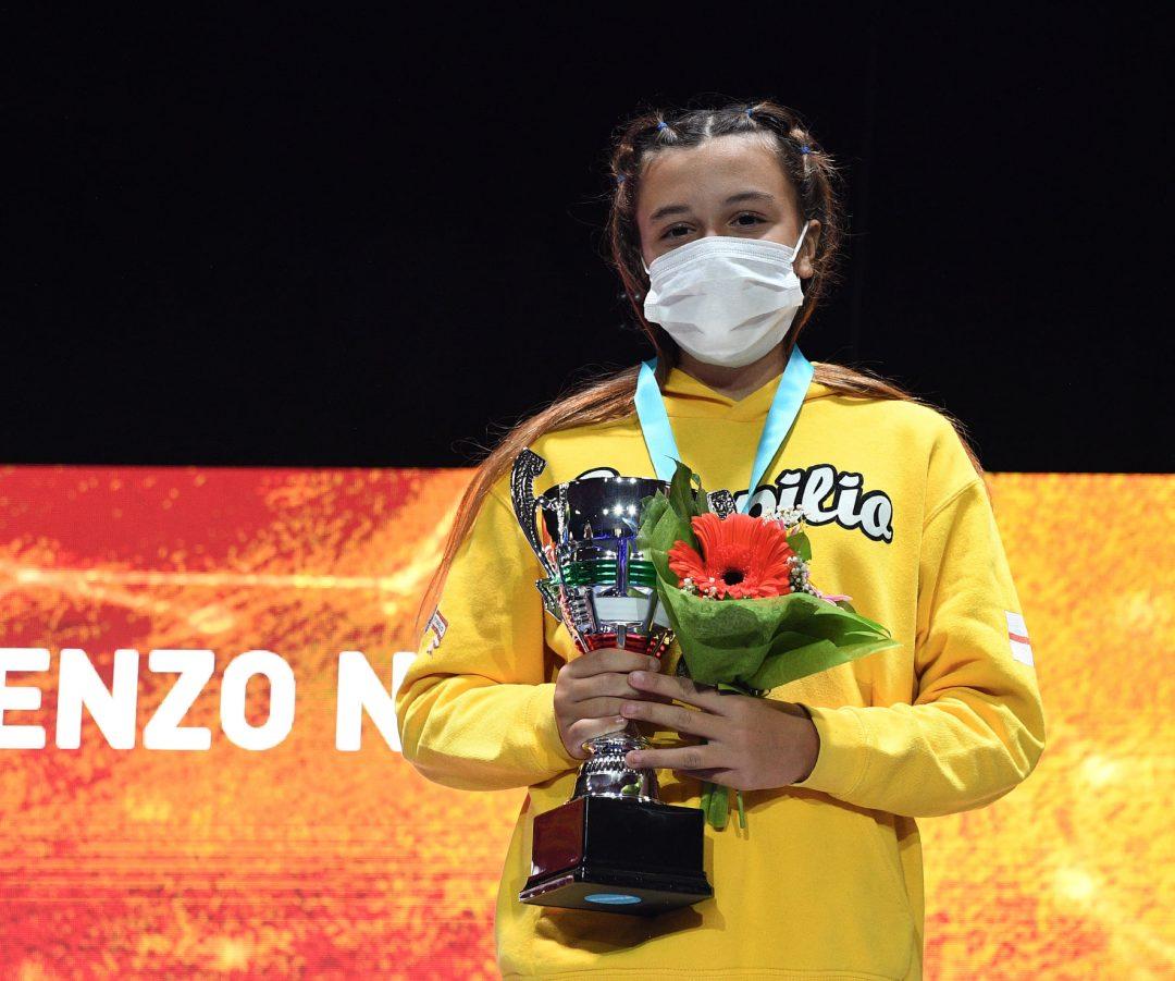 """Ambra Moschini bronzo al 57° Gran Premio Giovanissimi """"Renzo Nostini"""""""