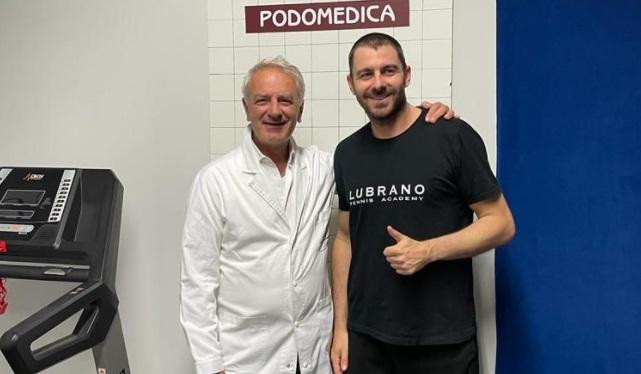Il professor Avagnina insieme a Federico Placidilli